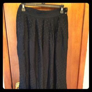 Jones New York long black skirt ..